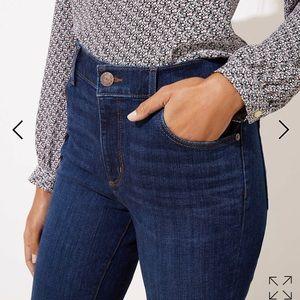 Ann Taylor LOFT Curvy Bootcut Jeans